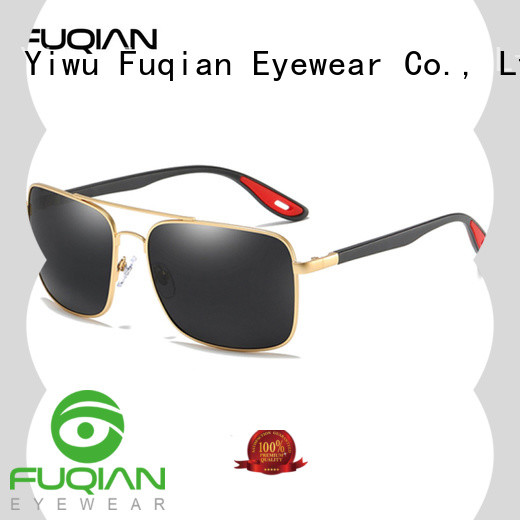 Fuqian men polarized sunglasses for men factory for driving
