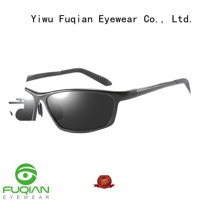 Fuqian vintage polarized sports sunglasses suitable for any face for lady