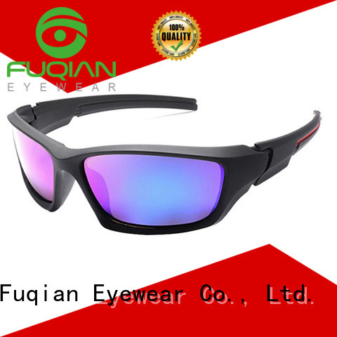 Fuqian polarized sports sunglasses luxury style for sport