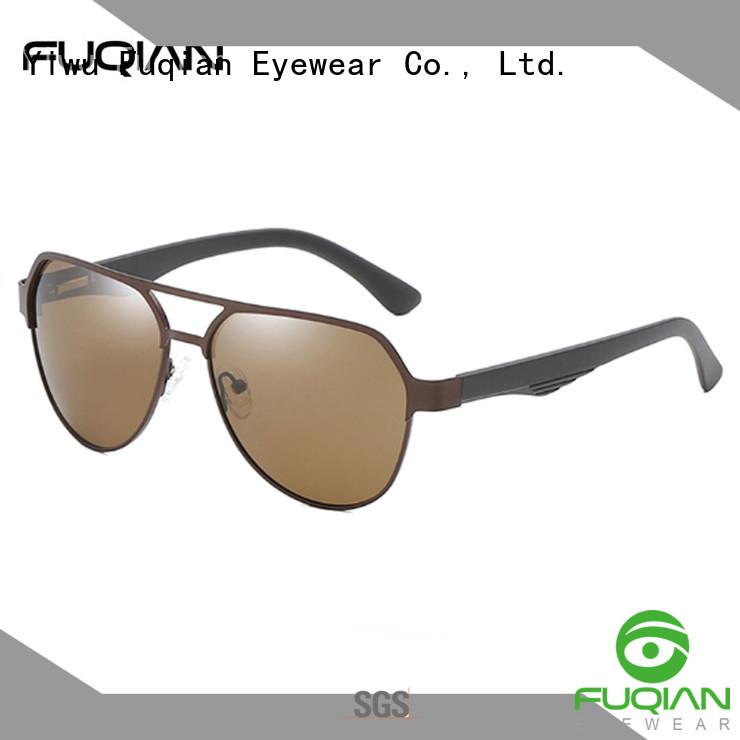 Fuqian custom male sunglasses factory price for men