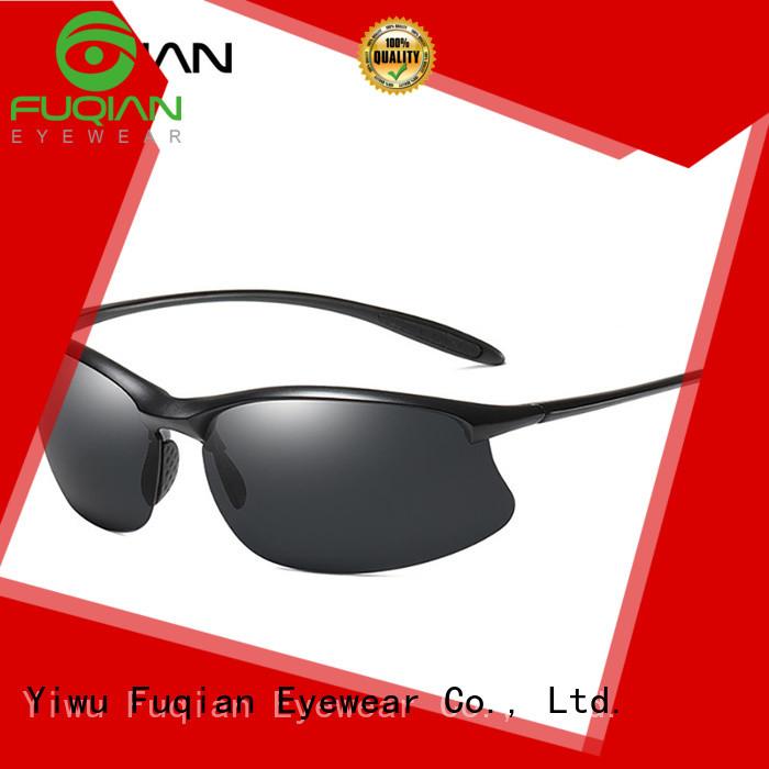 Fuqian aviator sunglasses for sale Supply for lady