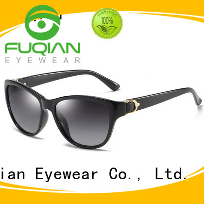 Fuqian lightweight oversized sunglasses womens for business for lady