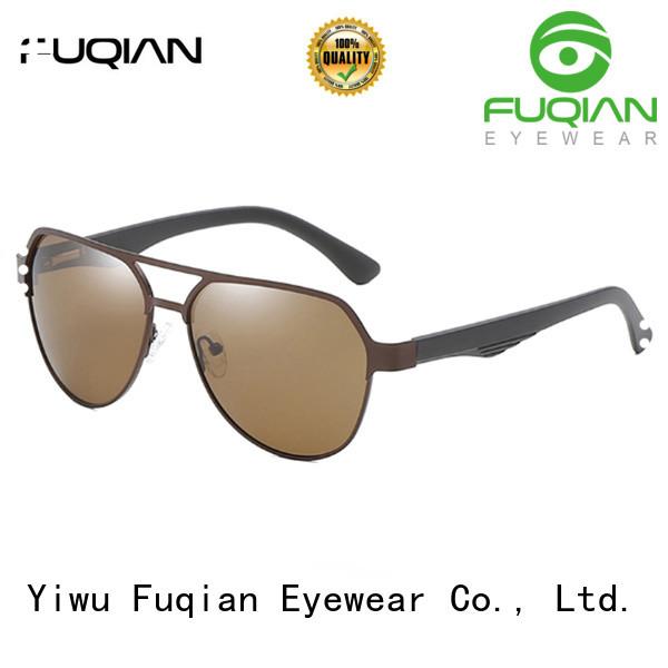 Fuqian men men's polarized mirrored sunglasses factory price for running