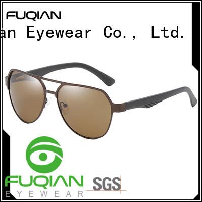 Fuqian polarized reader sunglasses customized for men