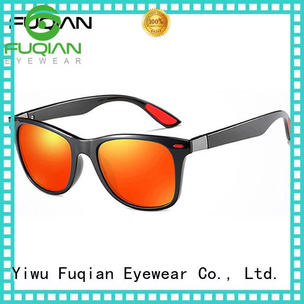 Fuqian popular mens sunglasses Supply for running