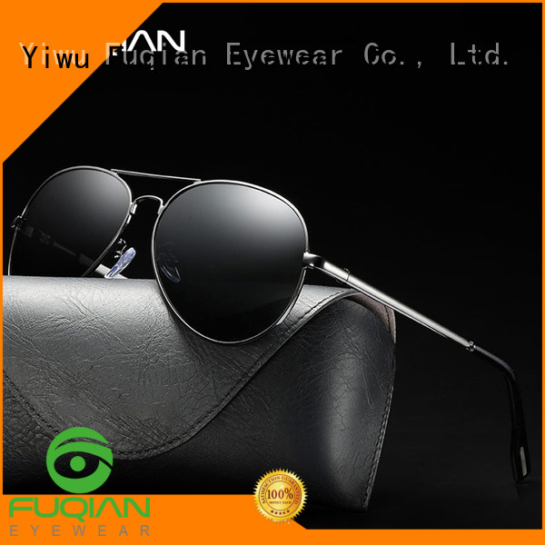 Fuqian polarized aviator sunglasses mens customized for sport