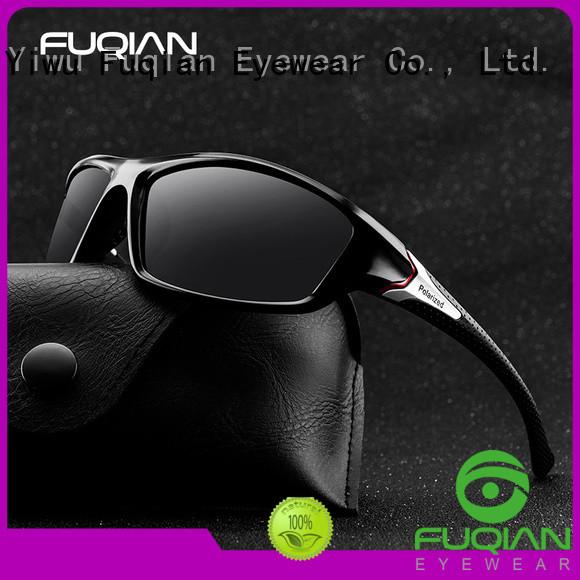 Fuqian custom polarized sunglasses supplier for sport
