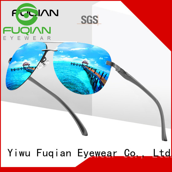 Fuqian polarized wrap around sunglasses Suppliers for running