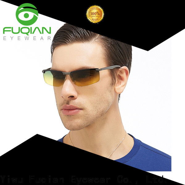 Fuqian oversized sunglasses for business for sport