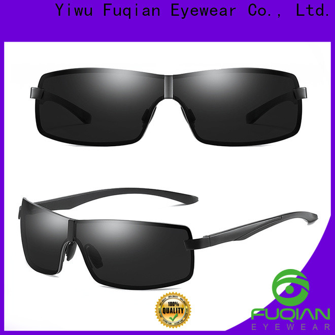 Fuqian tr90 polarized sunglasses Supply for sport