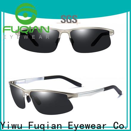 Fuqian men polarized reader sunglasses fashion design for sport
