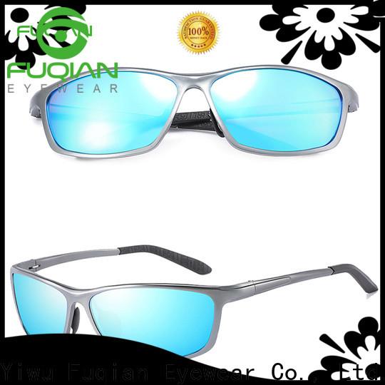 Fuqian heart shaped sunglasses fashion design for sport