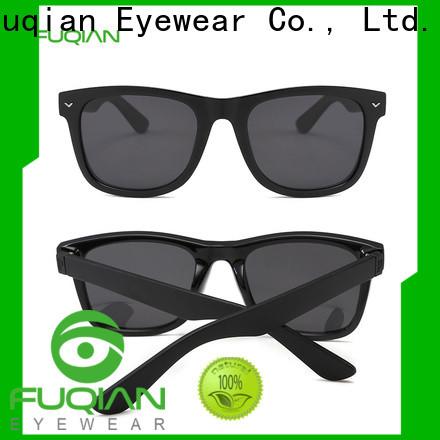 Fuqian male bulk sunglasses manufacturers for driving