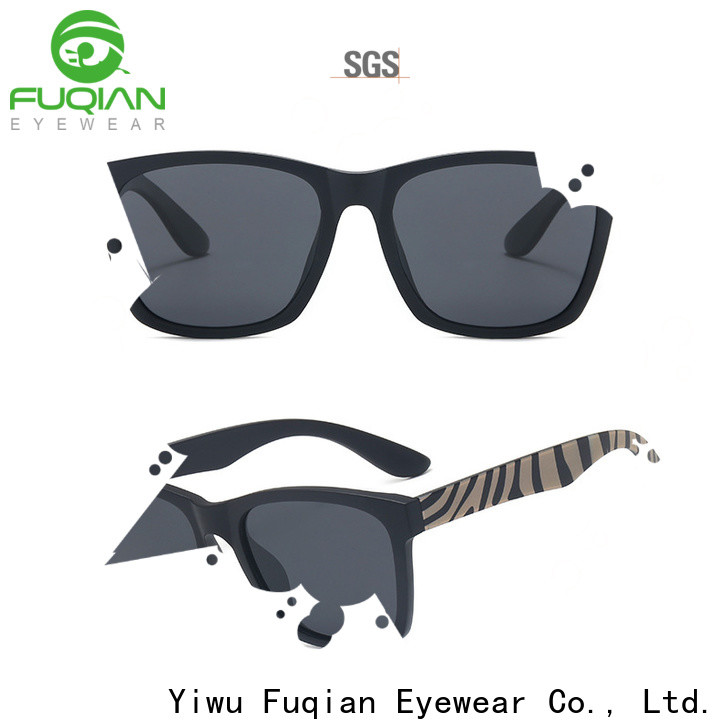 Fuqian custom flip up sunglasses Supply for men