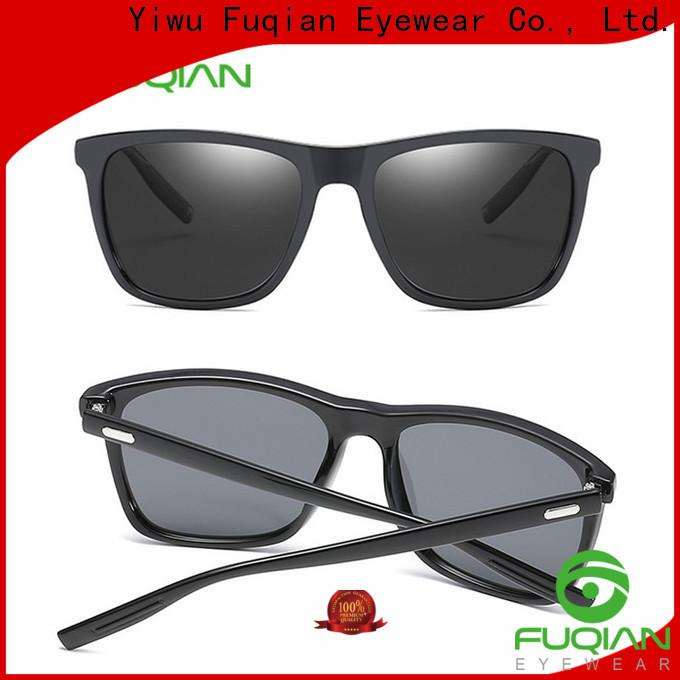 Fuqian wrap around sunglasses manufacturers for men