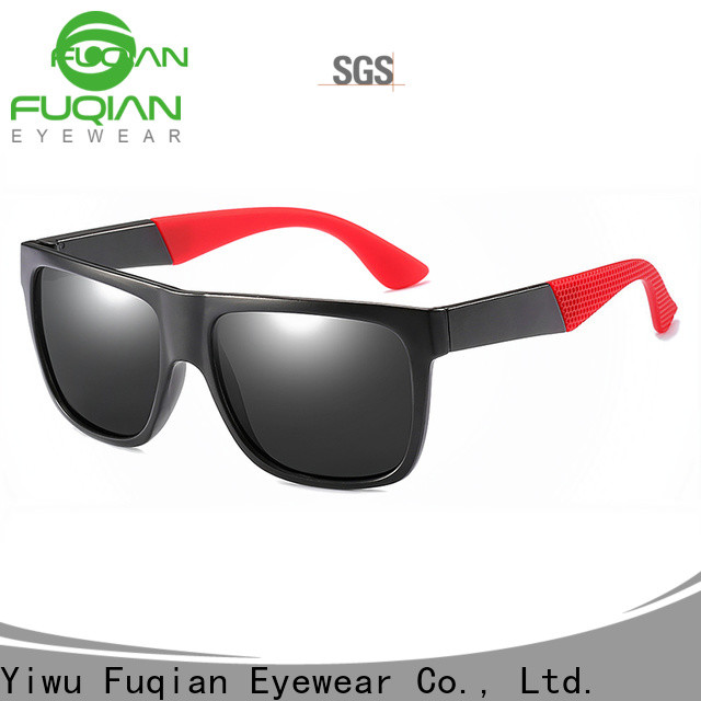 Fuqian men folding sunglasses fashion design for running