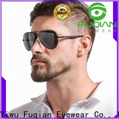 Fuqian male von zipper sunglasses factory for running