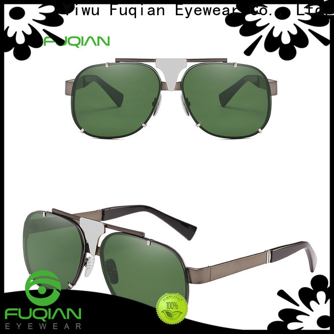 Fuqian mens designer sunglasses manufacturers for men