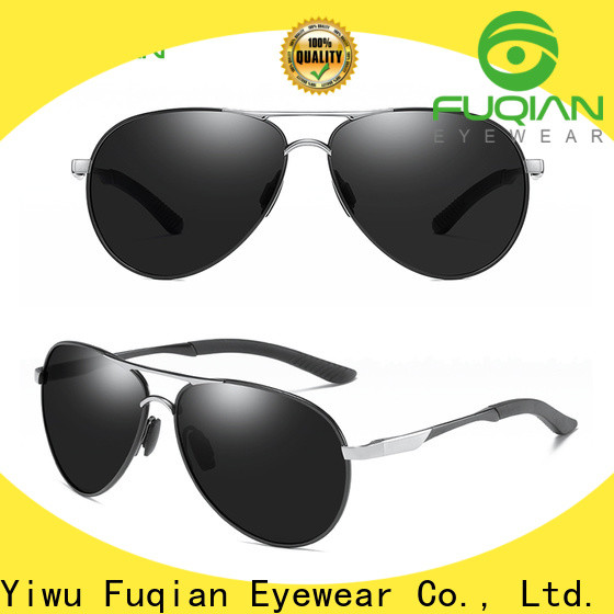 Fuqian male expensive sunglasses fashion design for men