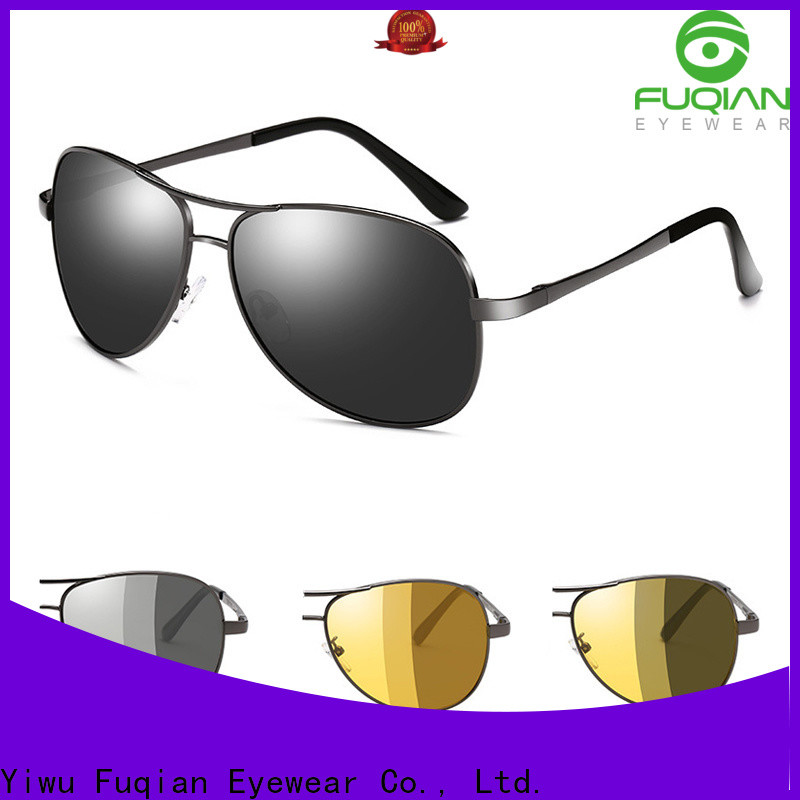 custom black flys sunglasses fashion design for driving