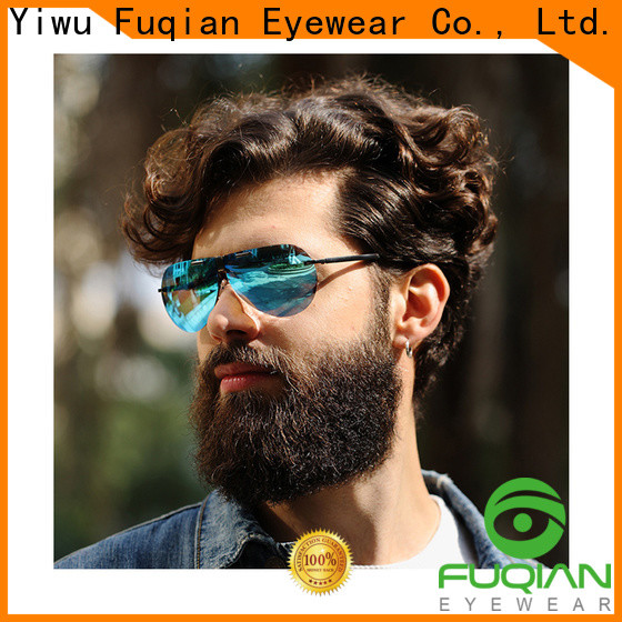 Fuqian folding sunglasses for business for driving