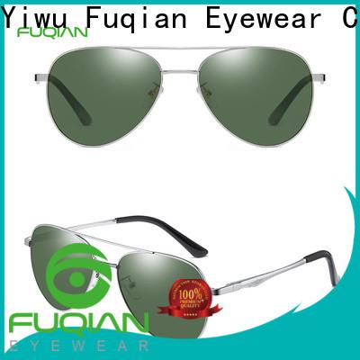 Fuqian silver sunglasses mens Suppliers for men