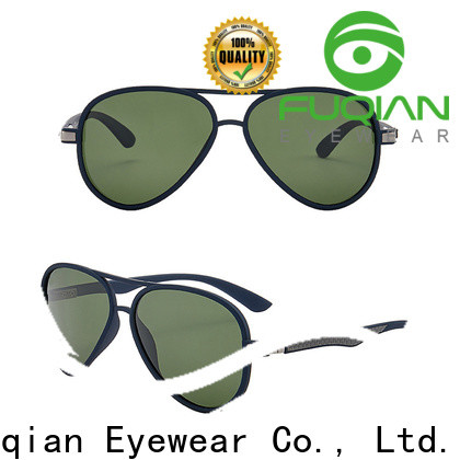 Fuqian custom expensive sunglasses for business for sport