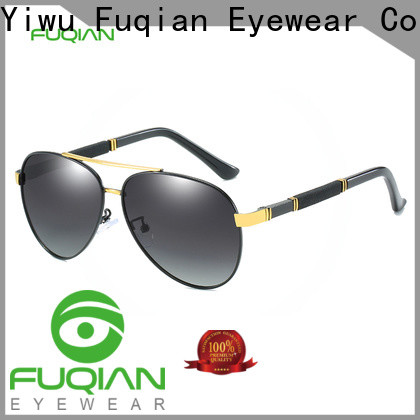 Fuqian unique mens sunglasses factory price for driving