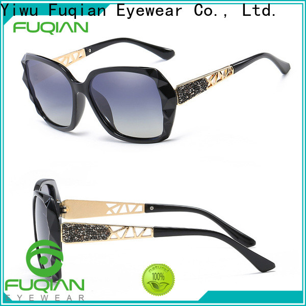 women glass lens polarized sunglasses factory for lady