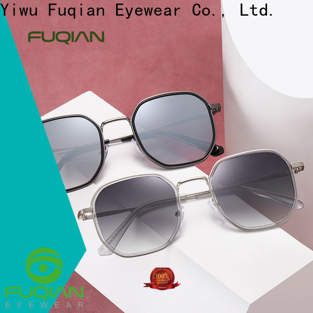 Fuqian oversized sunglasses womens Suppliers for sport