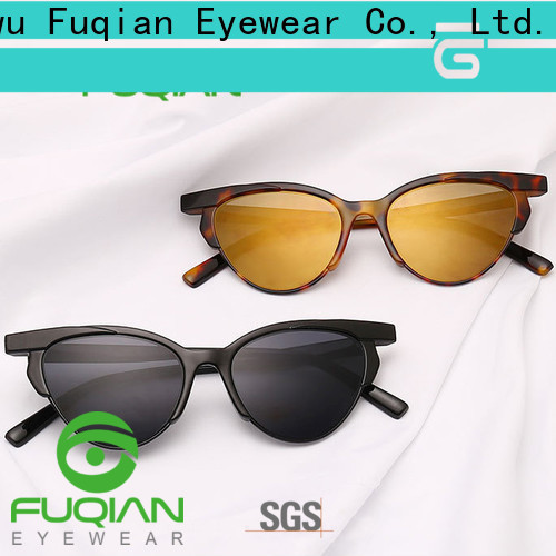 Fuqian female shades sunglasses Suppliers for sport