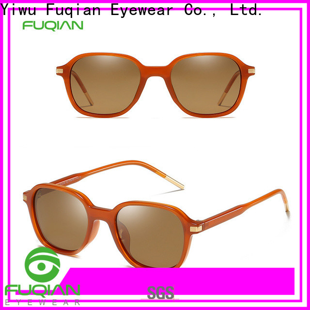 Fuqian mirrored womens sunglasses Suppliers for sport