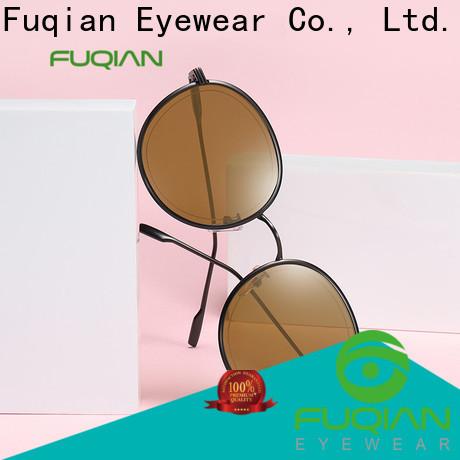 Fuqian women's pilot sunglasses customized for racing