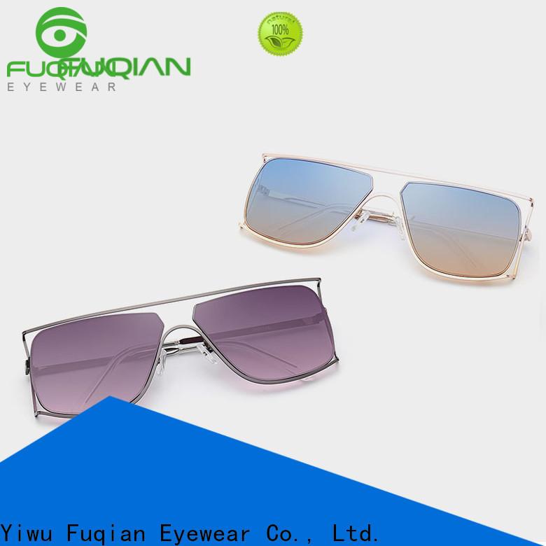 Fuqian female designer sunglasses customized