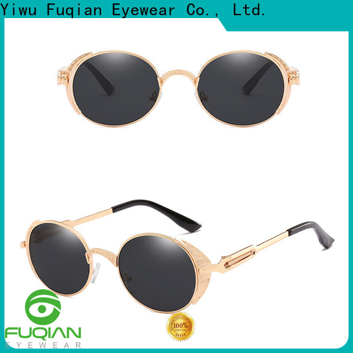 Fuqian mens designer sunglasses sale Supply for women
