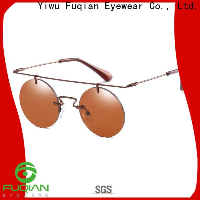 Fuqian lightweight oversized designer sunglasses for business