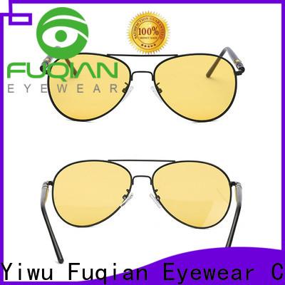 Fuqian Custom women's square sunglasses manufacturers for sport