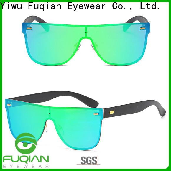 Fuqian womens white polarized sunglasses buy now for women