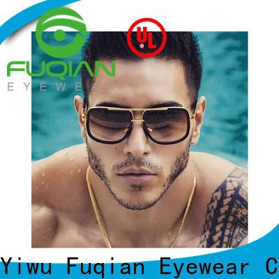 Fuqian stylish designer sunglasses outlet Suppliers