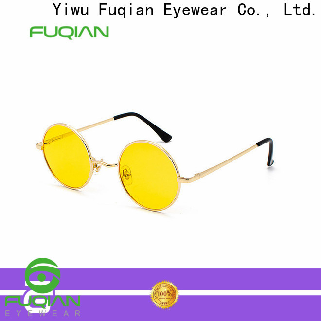 Fuqian Wholesale female shades sunglasses customized