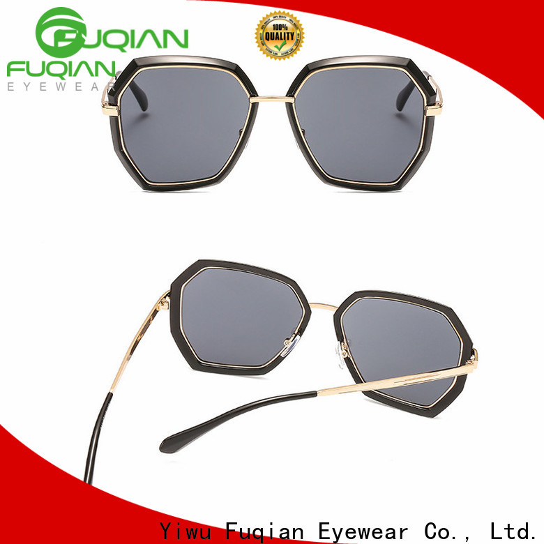 Fuqian Custom womens black polarized sunglasses factory