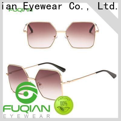 Fuqian Top womens matte black sunglasses buy now for racing
