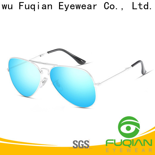 Fuqian polarized mirror sunglasses customized for racing
