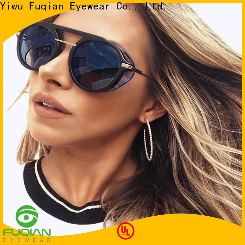 Fuqian round sunglasses women ask online for lady