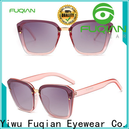 Fuqian Custom silver sunglasses for women manufacturers for lady