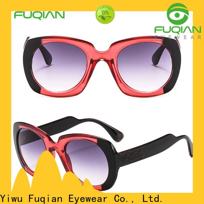 Fuqian Wholesale womens designer aviator sunglasses for business for sport