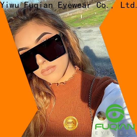 Fuqian New reflective women's sunglasses manufacturers for women