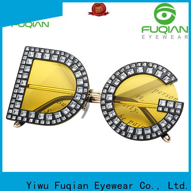 Fuqian women all black womens sunglasses buy now for women