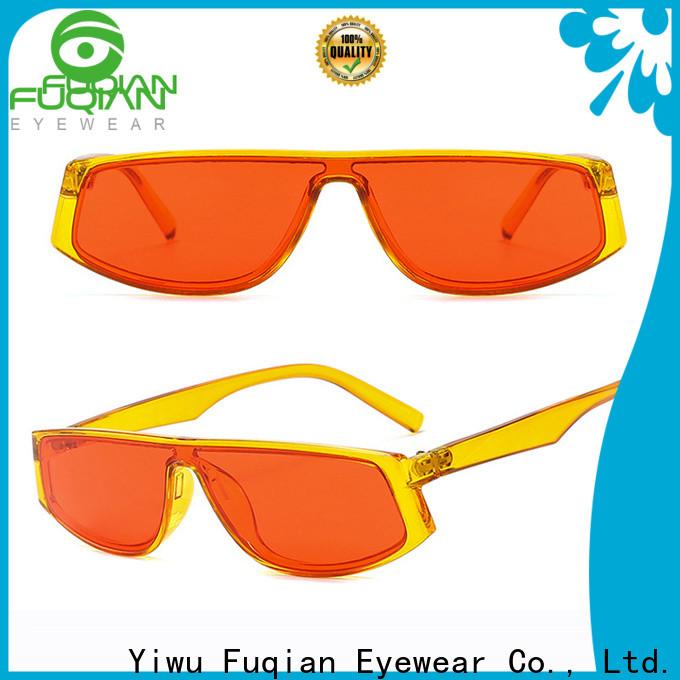 Fuqian aviator style sunglasses factory for lady