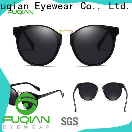 Fuqian womens white polarized sunglasses Suppliers